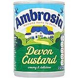 Ambrosia Listo Para Servir 400g Crema Pastelera Devon (Paquete de 6)