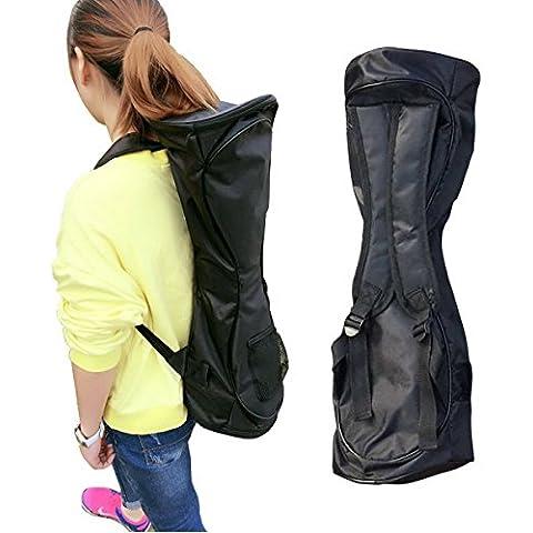 segurry 1pcs impermeable mochila caso bolsa para transportar y almacenar sus Drifting Board (dos ruedas Inteligentes Balance Board Scooter Electrico Auto Smart Drifting Board), negro