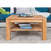 Couchtisch Wooden Nature 122 Kernbuche Massiv   80 X 80 X 45 Cm (B X