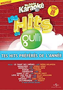 Coffret Karaoké 2 DVD Hits de Gulli