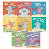 Mo Willems Collection Elephant and Piggie Series 8 Books Bundles - I Will Surprise My Friend!,Watch Me Throw the Ball!,I Love My New Toy!,My Friend Is Sad,There Is a Bird on Your Head!,I Am Invited to a Party!,Today I Will Fly!,Are You Ready to Play Outside?