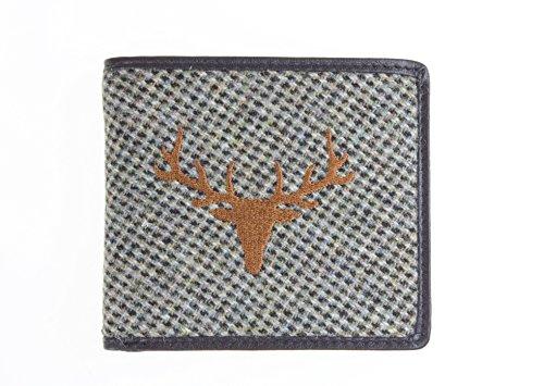 gris-islay-en-tweed-de-luxe-portefeuille-homme-avec-cerf-image-brode-avec-poche-pour-monnaie
