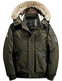 Y-BOA Manteau Pelisse Capuche Fourrure Chaude Parka Militaire Blouson Coat Hiver