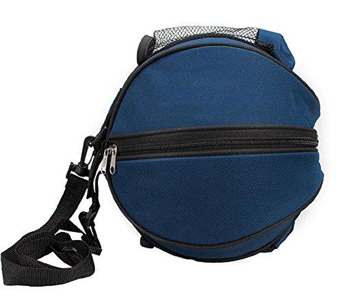 SUPER-BAB Schulter-Balltasche, Nylon, für Fußball, Trainingszubehör, Volleyball, Basketball, dunkelblau