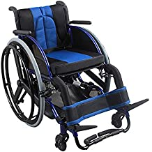 Sillas de ruedas deportivas y de ocio, portátiles ligeros plegables con aleación de aluminio ultraligera