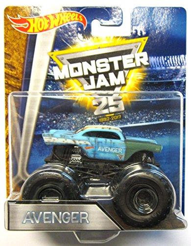 Hot Wheels Monster Jam - DWN06 Avenger (oxidado) '25 years 1992-2017'