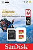 SanDisk Extreme 32 GB microSDHC for Action Sports Cameras Memory Card Twinpack up to 90 MB/s, Class 10, U3, V30