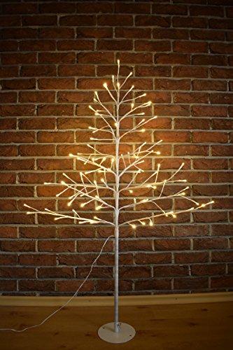 Candelabro Navidad Árbol luz blanco LED