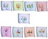 #9: IndiStar Girls Cotton Printed Bloomers/Panties(Pack of 9)