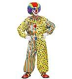 WIDMANN Pagliaccio Costume Costumi Completo Adulto Party E Carnevale Giocattolo 248