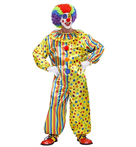 WIDMANN Costume da Pagliaccio/Clown, in Taglia XL