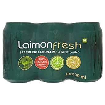 Laimon Fresh Lemon, Lime & Mint Soft Drink 4x6x330ml