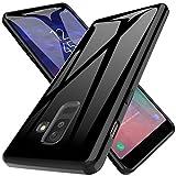 LK Cover per Samsung Galaxy A6 Plus 2018 Custodia, Case in Morbido Silicone di Gel AntiGraffio in TPU Ultra [Slim Thin] Protettiva - Nero