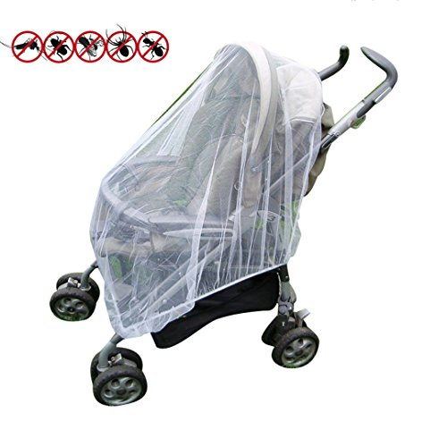 Baby Mosquito Net Infant Insect Net for Prams and Pushchairs Baby Buggies Car Seats Moses Basket Prams and Travel Cots by Mosquito Nets 4 U® 5197MmmdzNL