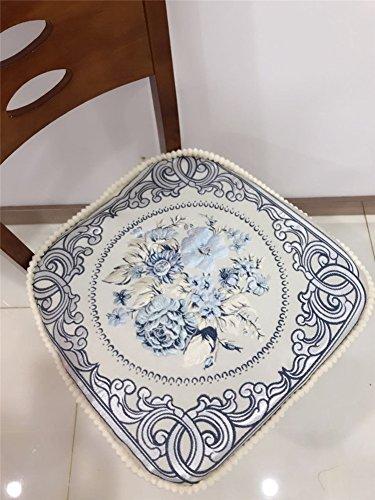 Neue guosetianxiang gehobene europäische abendessen kissen verdickung tisch stuhl kissen sitzkissen sitz matte-taobao-I 43x45cm(17x18inch) (Hartholz-fußboden-matte Stuhl)