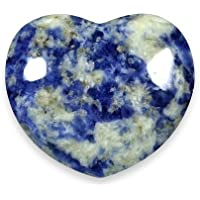 Sodalite Crystal Heart ~ 4.5cm by CrystalAge preisvergleich bei billige-tabletten.eu