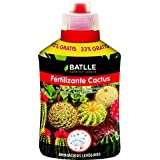 Semillas Batlle 710870UNID - Fertilizante Cactus, 400 ml, color rojo y negro