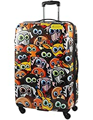 SX ABS-PC FUNNY ANIMALS 71CM 4W TROLLEY ASSORTED