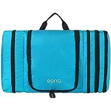Eono Essentials, borsa salvaspazio per toeletteria, impermeabile e appendibile