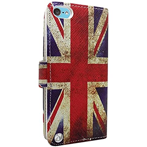 Accessory Master Book Style - Funda para Apple iPod Touch 4, multicolor