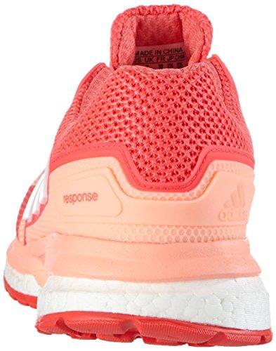 adidas Response 2 W, chaussure de course femme Rouge / Blanc / Rouge (Brisol / Ftwbla / Rojimp)
