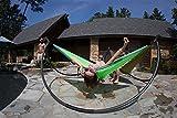 NatureFun Tragbare 275*140cm Ultra-Leichte 100% Fallschirm-Nylon Reise Camping Hängematte für Backpacker, Camping, Jagen, Strand, Hof - 5