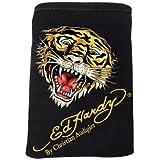 Pochette de protection pour telephone portable/MP3/Iphone - 12 x 17 cm - Tiger