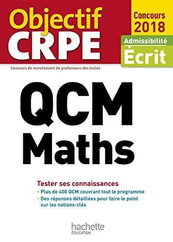 QCM CRPE : Maths (Objectif CRPE)