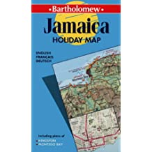 Jamaique Holiday Map. 1/250 000