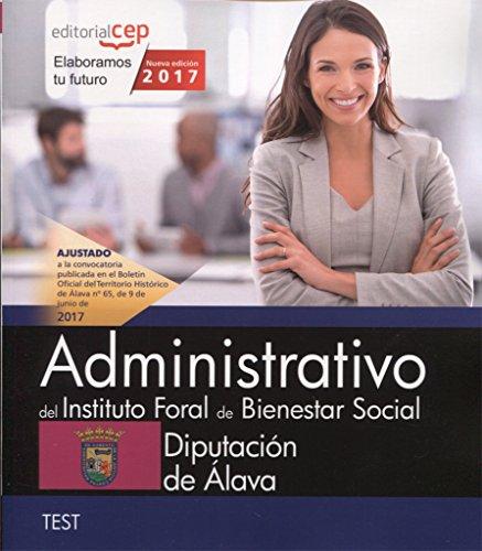 Administrativo del Instituto Foral de Bienestar Social. Diputación de Álava. Test