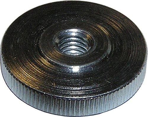 Dresselhaus Rändelmuttern niedrige Form ST DIN 467, M 6, 100 Stück, galvanisch verzinkt