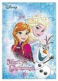 Disney Kinder Elsa Eiskönigin Frozen Adventskalender 2018 , Weihnachtskalender schokoladenfreier Adventskalender mit 24 Schreibwaren - Überraschungen , ideal für Disney Elsa Frozen Liebhaber
