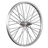 Taylor-Wheels 20 Zoll Hinterrad Büchel Alufelge/Schraubkranznabe 5/8-fach - Silber