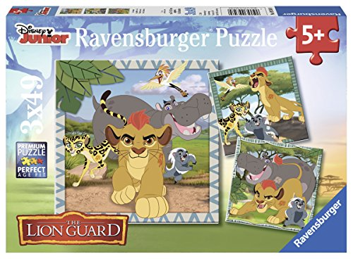 Preisvergleich Produktbild Ravensburger Kinderpuzzle 09348 König der Löwen Lion Guard