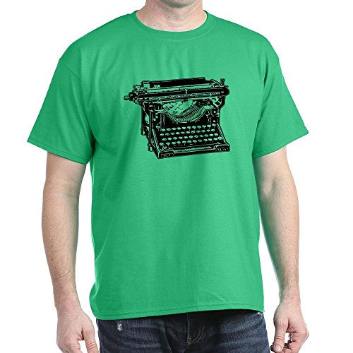 Old Fashioned Typewriter Dark T-Shirt, Many Colours