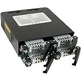 """Icy Dock MB994SK-1B - Caja de acero para disco duro (4 x 2.5"""" HDD/SSD)"""