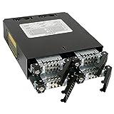 ICY Dock MB994SK-1B ToughArmor HDD/SSD Backplane-Modul mit Sicherheitsschloss (4x 7-polig SATA II, APT) matt schwarz