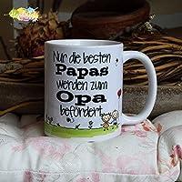 Kaffeebecher ~ Tasse - Nur die besten Papas werden zum Opa befördert ~ Weihnachten Geschenk