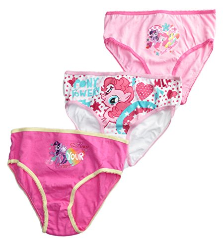 Official Disney Frozen / My Little Pony / Monster High Girls Brief Set 3Pcs Innerwear Kids Underwear 2-3 Years 4-5 Years 6-8 Years | Main Picture to Illustrate Different Styles