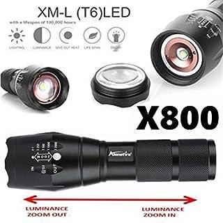 Omiky® X800 Taktische Taschenlampe LED Militär Lumen Alonefire