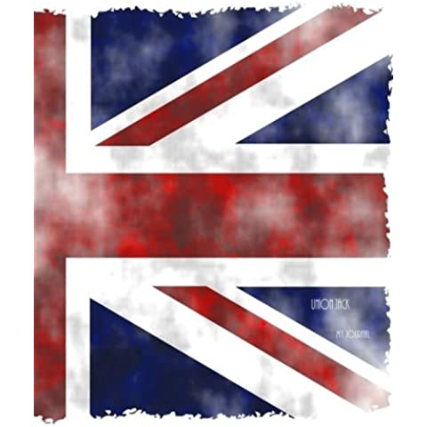Union Jack: Flag Notebook/Journal with 110 Lined Pages (8.5 x