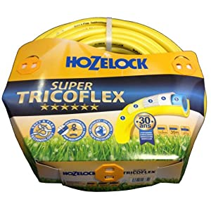 Hozelock Manguera Super Tricoflex de 30 m (12,5 mm D), 116774