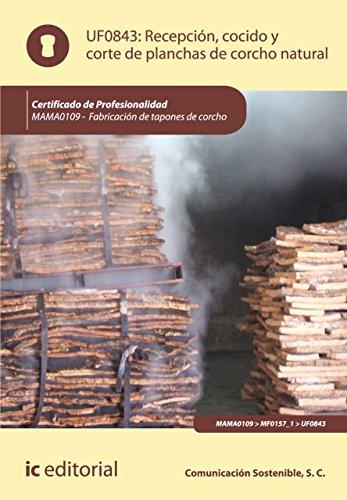 Recepción, cocido y corte de planchas de corcho natural. MAMA0109 por S.C. Comunicación Sostenible