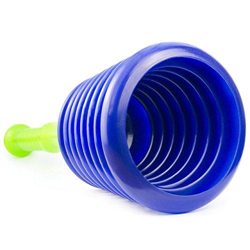 El mejor desatascador de desagües del mundo: el más grande y mejor desatascador para fregaderos, cañerías, desagües, duchas y más. Por Luigi Plumbing