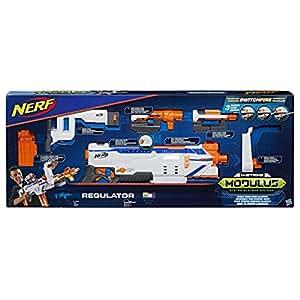 Nerf - Jeu Nerf Elite Modulus Regulator Jeu de fléchettes, C1294