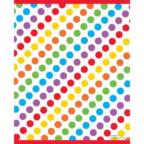 unique-party-47123-buste-regalo-per-feste-arcobaleno-confezione-da-8