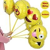 26 Stück Emoji Luftballon... Ansicht