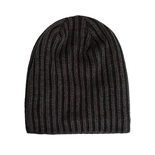 gorro de lana a dos agujas - Comprapedia c0b97f1e439