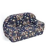 MuseHouse Sofá para niños Sofá cama Niños pequeños Plegables 2 en un sofá y cama de 0 a 4 años (Dreamcatcher-MHS130)