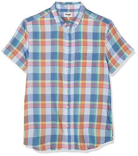 Wrangler SS 1 Pkt Button Down Camisa
